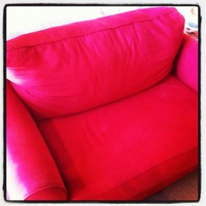Little Red Couch